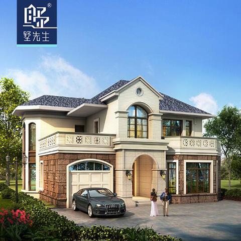 陕西2层别墅设计图