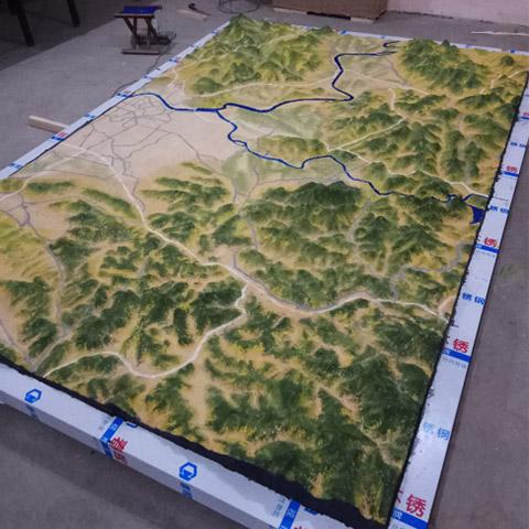 海南<b>沙盤模型</b>生產廠家_創展模型