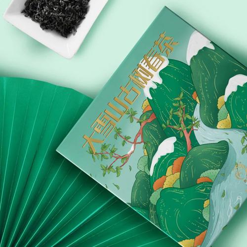 大雪山古树春茶包装设计——中禹广告