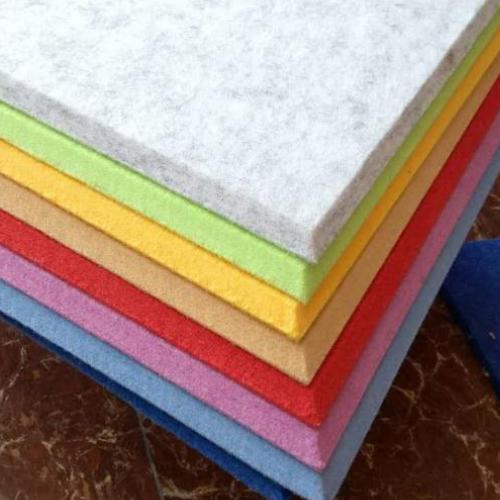 聚酯纤维吸音板厂家直销,吸音板颜色多现货销售