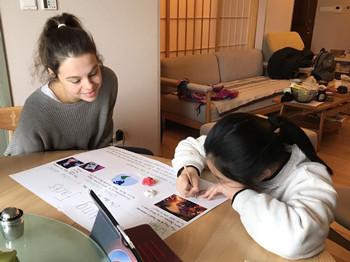 与妹妹学习小图