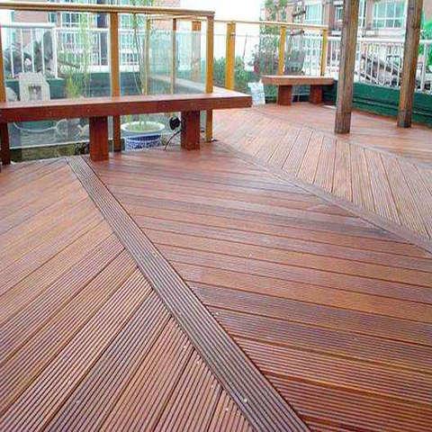 户外地板,防腐木地板专业施工单位麦色之晨