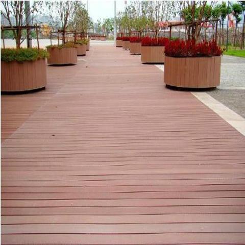 户外阳台防腐木地板 庭院休闲实木 平台地板