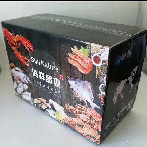 铝箔海鲜包装纸箱