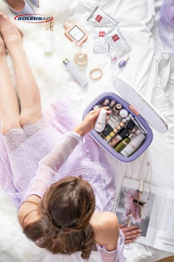 颜值与实力并存SoleusAir舒乐氏新品美妆冰箱闪耀出道