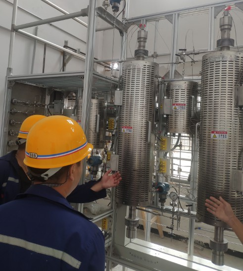江西尊创丨工程建设即将迎来高峰期 公司成立团队保护核心技术