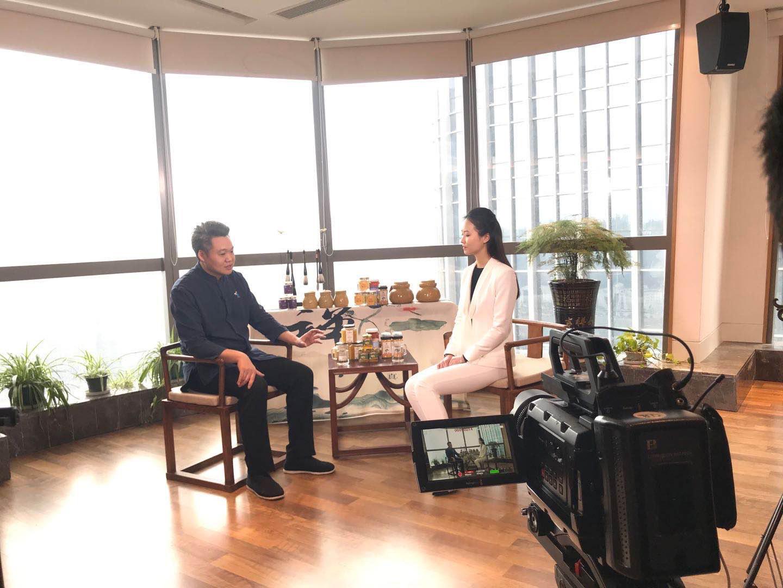 贵州电视台《走进贵商》开播,首访夫子峰