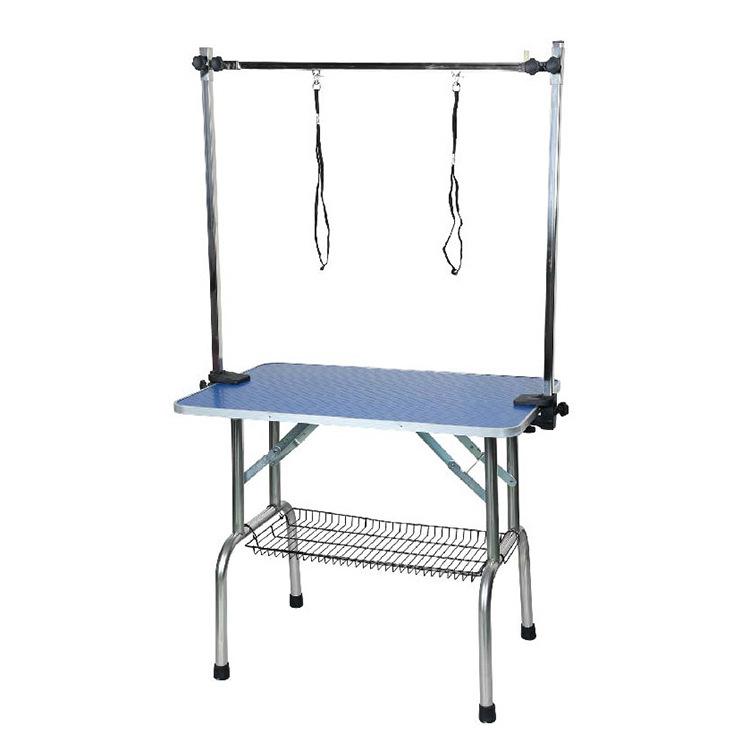 不锈钢拉链宠物狗狗美容台美容桌龙门吊杆双吊绳