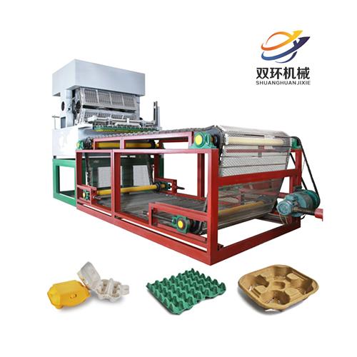 雞蛋托盤生產設備低成本高性能