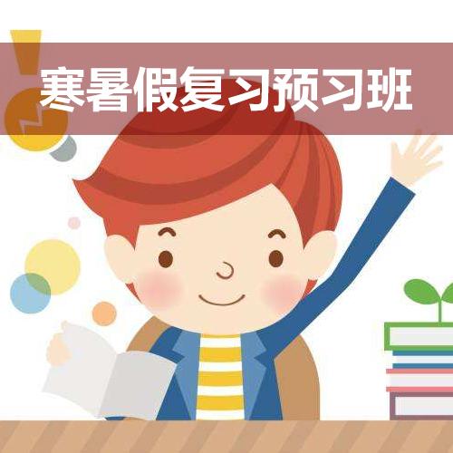 寒暑假复习预习班