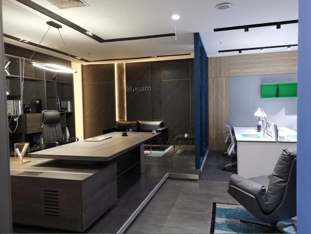 深圳美格利生:具象的办公空间,抽象的企业文化表达
