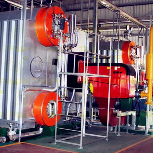 SZS系列燃油燃气水管蒸汽锅炉