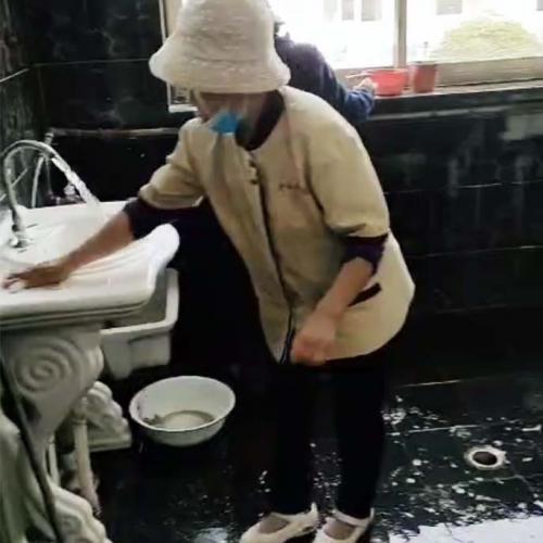 衛生間保潔