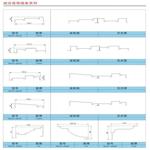 组合装饰线条系列