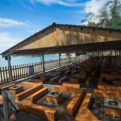 深圳西冲海滩烧烤食物预订配送食物2-100人套餐